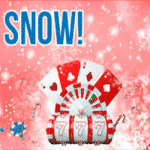 Let it snow chips and spins at Jackpot Paradise