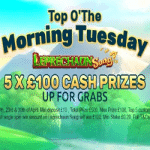 Top O'The Morning Tuesdays at Jackpot Slot
