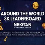Jackpot Wilds: Around the World 3K Leaderboard