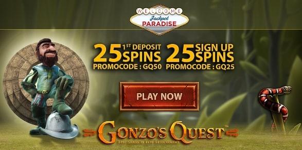Jackpot Paradise spins