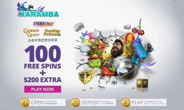 Karamba Casino Free Spins & Bonus