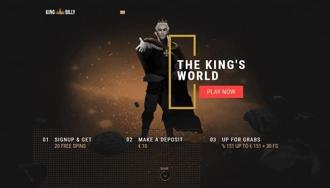 King Billy Casino Promotion