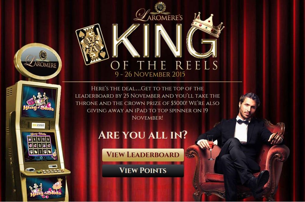 Laromere Casino promotion