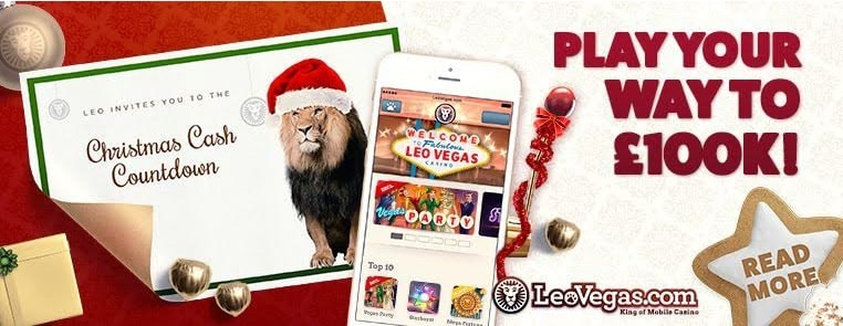 LeoVegas Casino Xmas promo