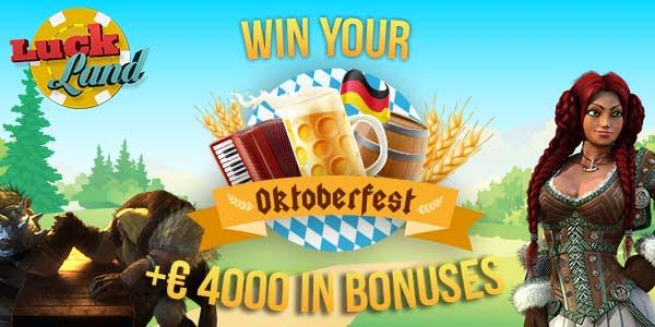 LuckLand Casino promotion