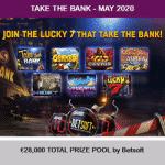 Take The Bank: €28,000 - May at Magical Spin
