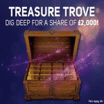 Treasure Trove: £2,000 at Magical Vegas Casino
