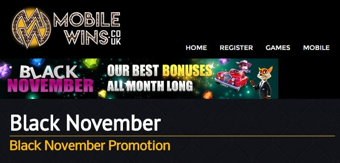 Mobile Wins Casino bonus