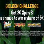The Golden Challenge is on at casino mRiches
