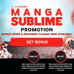 Manga Sublime - NextCasino's new promotion