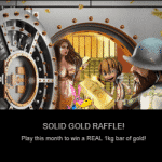 Win a real 1KG bar of solid gold with NextCasino