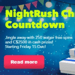 It's time for the Night Rush Christmas Countdown