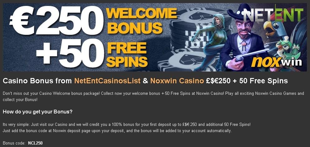 Noxwin exclusive
