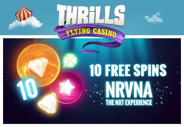 10 Free Spins No Deposit On NRVNA