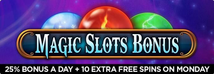 Omni Slots bonus & free spins