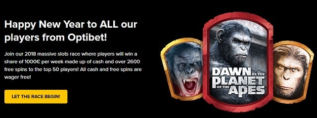 Optibet Casino Promotion