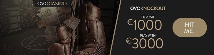 OVO Casino promotion