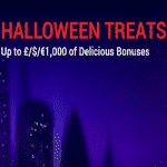 Halloween Treats: £/$/€1K Bonuses at Phone Vegas