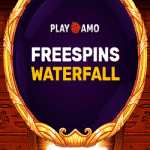Free Spins Waterfall - every day at PlayAmo