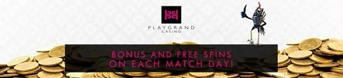 PlayGrand Casino bonuses & free spins