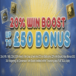 Pyramid's Fortune: 20% Win Boost up to £50