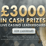 Live Casino Leaderboard: £3,000 from Reel Vegas