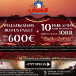 €600 in Bonuses + 10 Free Spins from Slots Ltd