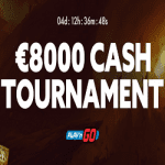 An €8,000 Cash Tournament by Slotty Vegas