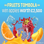 The £2500 Fruits Tombola by Spin And Win
