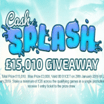 Touch Lucky - £15,010 Cash Splash Giveaway