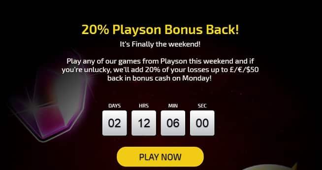 Trada Casino Promotion
