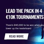 €40,000 in four tournaments at Vegas Hero