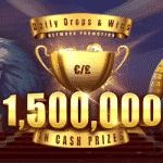 €/£1,500,000 in cash prizes from W Casino