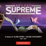 €6K + 15000 Spins: August Supreme at WildSlots