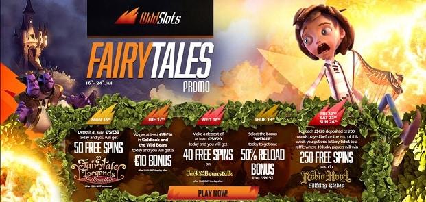 WildSlots Casino promotion