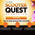 WildSlots Casino's Scooter Quest Promotion