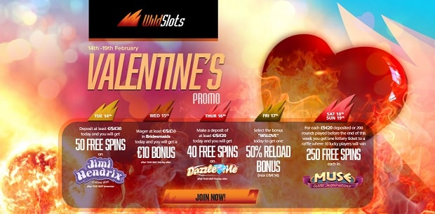 WildSlots Casino promotion