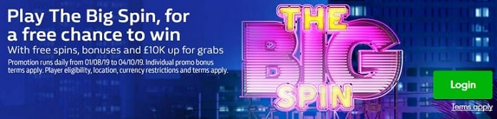 William Hill Casino Promotion