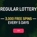 3,000 Free Spins - Lottery by Woo Casino