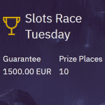 Slots Race Tuesday: €1500 from ZenCasino